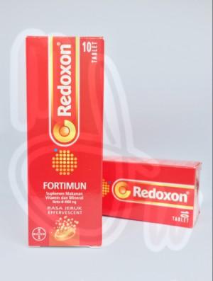 Harga redoxon fortimun isi 10 tablet rasa jeruk | HARGALOKA.COM