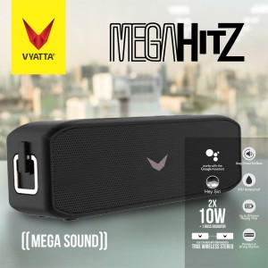 Harga mega hitz tws bluetooth speaker 20w 2 bass waterproof hd 20 hours   | HARGALOKA.COM