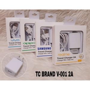 Harga v 001 charger branded best seller model design micro usb all tipe hp     HARGALOKA.COM