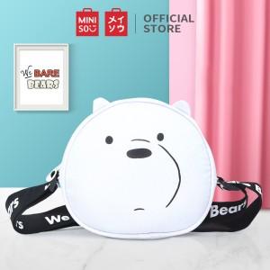 Harga miniso tas selempang wanita sling bag karakter lucu we bare bears   | HARGALOKA.COM