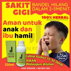 Harga obat sakit gigi berlubang den fortis untuk anak anak dewasa ibu | HARGALOKA.COM
