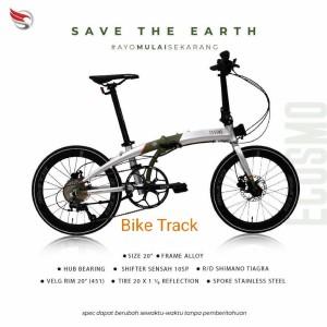 Harga sepeda lipat element ecosmo 10 save the earth sophia latjuba   HARGALOKA.COM