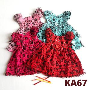 Harga baju bayi perempuan 0  18 bulan dress pesta ka67   | HARGALOKA.COM