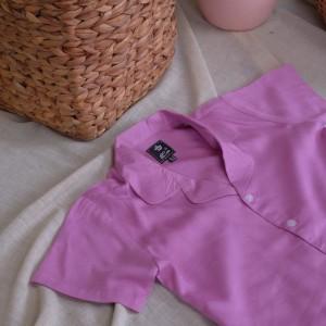 Harga home pajamas setelan piyama celana pendek anak   lilac | HARGALOKA.COM