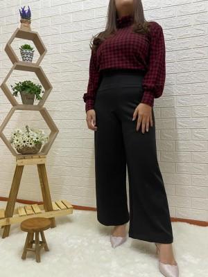 Harga siacollection  atasan wanita sweater turtleneck square material scuba   | HARGALOKA.COM