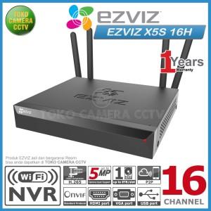 Harga nvr wifi wireless ezviz x5s 16h 16ch nvr ezviz 16 | HARGALOKA.COM