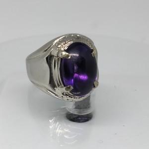 Harga cincin batu kecubung ungu   HARGALOKA.COM