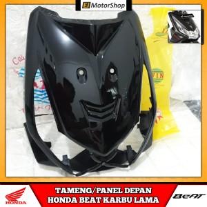 Harga tameng cover dasi panel depan honda beat karbu warna hitam | HARGALOKA.COM