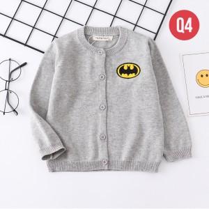 Harga q4 cardigan anak laki laki perempuan sweater outerwear motif superhero     HARGALOKA.COM