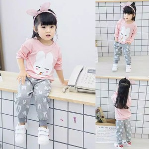 Harga password lusty bunny setelan sweater 1   7 tahun baju anak berkualitas   fanta | HARGALOKA.COM
