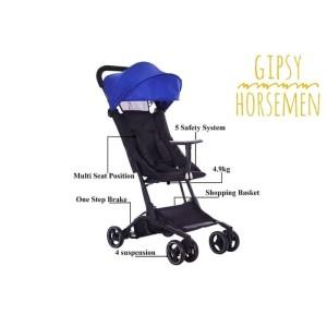 Harga makassar   stroller travel cabin size hm7002 gipsy horsemen   | HARGALOKA.COM