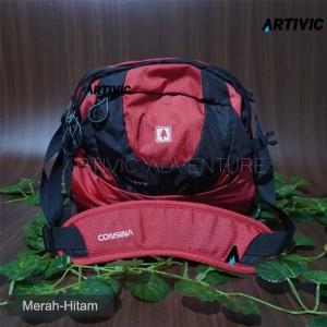 Harga tas slempang bodypack consina pekkae   merah | HARGALOKA.COM