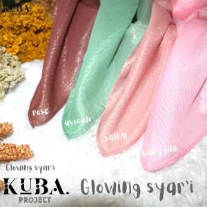 Harga hijab segi empat glowing syar 39 i luxury glitter polos azara 130x130cm   dusty | HARGALOKA.COM