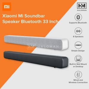 Harga xiaomi mi soundbar speaker bluetooth home theater 33 inch   | HARGALOKA.COM