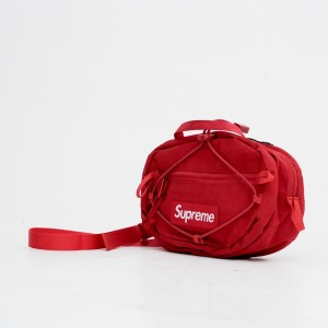 Harga supreme waitsbag red high quality material | HARGALOKA.COM