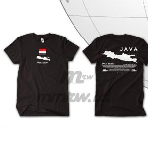 Harga tshirt java island   indonesia island series   mmrw project   s | HARGALOKA.COM