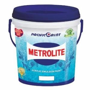 Harga cat tembok metrolite putih 1liter pacific | HARGALOKA.COM