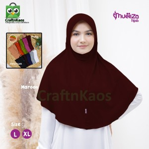 Harga jilbab instan syar 39 i remaja dewasa size xl alsha model mueeza hijab     HARGALOKA.COM