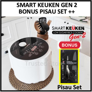 Harga promo smart keuken gen 2 rice cooker low carbo rendah karbo | HARGALOKA.COM
