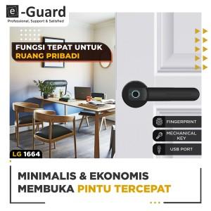 Harga e guard kunci pintu fingerprint digital door lock | HARGALOKA.COM