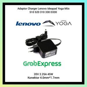Harga adaptor charger lenovo ideapad yoga miix 510 520 310 330 d330 | HARGALOKA.COM
