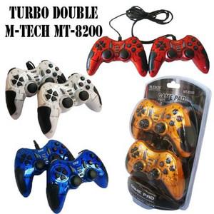 Harga stik ps double turbo gamepad stick m tech mt 8200 usb for | HARGALOKA.COM