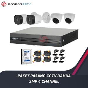 Harga paket pasang kamera cctv dahua 2mp 4 | HARGALOKA.COM