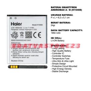 Harga baterai andromax a b h15408 a16c3h original oem batre batrai | HARGALOKA.COM
