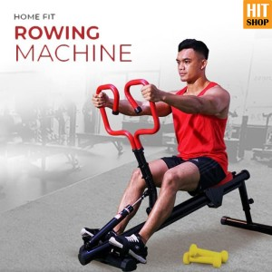 Harga home fit rowing machine   mesin olahraga dayung   fitness gym di | HARGALOKA.COM