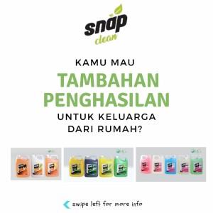 Harga mencari agen area bali ntt ntb sulawesi dan papua snap clean | HARGALOKA.COM