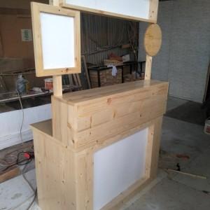 Harga container booth murah grobak kayu | HARGALOKA.COM