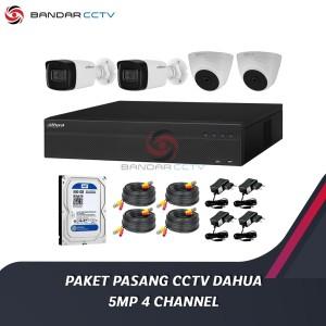 Harga paket pasang cctv dahua 5mp 4 | HARGALOKA.COM