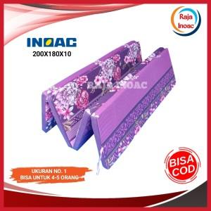 Harga 200x180x10 kasur lipat inoac asli tebal 10 cm kasur lipat | HARGALOKA.COM