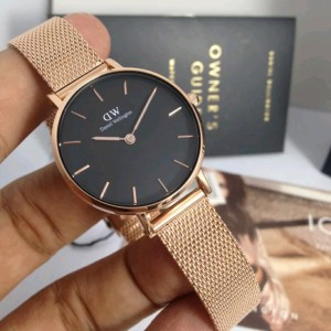 Harga jam tangan dw wanita petite melrose black original   | HARGALOKA.COM