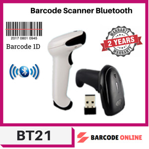Harga wireless bluetooth 1d laser barcode scanner all id | HARGALOKA.COM
