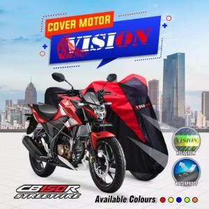 Harga cover sarung motor honda cb150r waterproof anti air kualitas outdoor     HARGALOKA.COM