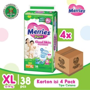 Harga merries pants good skin xl 38 39 s karton isi | HARGALOKA.COM