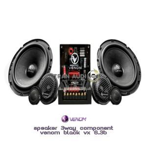 Harga speaker 3 way component venom vx 6 | HARGALOKA.COM
