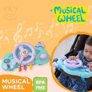 Harga mainan setir steering wheel bisa untuk stroller kursi roda | HARGALOKA.COM