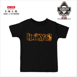 Harga kaos baju anak haikyuu simple kaos anime   | HARGALOKA.COM