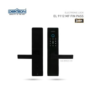 Harga kunci elektronik electronic lock dekson el 9112 mf fin pass | HARGALOKA.COM