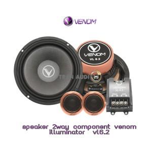 Harga speaker 2 way component venom illuminator vl6 | HARGALOKA.COM