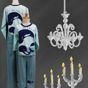 Harga baju tidur anak anne claire whale st lgn pjg cln pjg   | HARGALOKA.COM