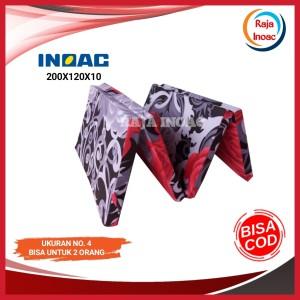 Harga 200x120x10 kasur lipat inoac asli tebal 10 cm kasur lipat | HARGALOKA.COM