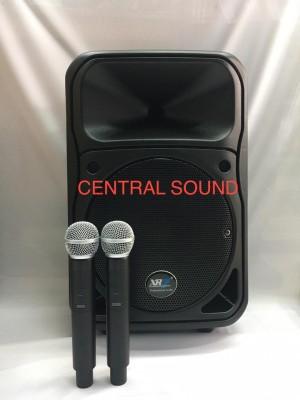 Harga speaker portable meeting karaoke xr7 15 inch speaker   HARGALOKA.COM