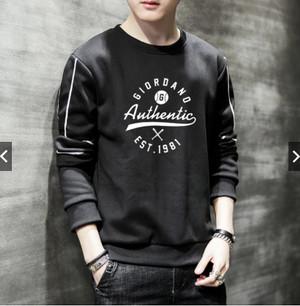 Harga baju pria lengan panjang keren authentic tshirt   m | HARGALOKA.COM