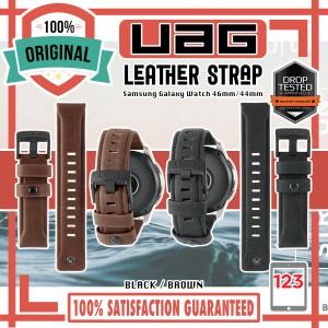 Harga samsung galaxy watch 3 45mm 46mm gear s3 uag leather strap   46mm | HARGALOKA.COM