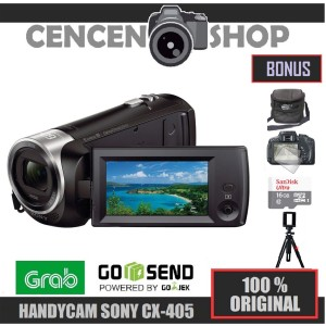 Harga free handycam sony hdr cx405 cx 405 camcorder | HARGALOKA.COM