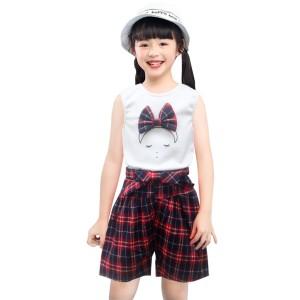 Harga two mix setelan baju anak perempuan fashion korea usia 1 7 tahun 4107   cokelat   HARGALOKA.COM
