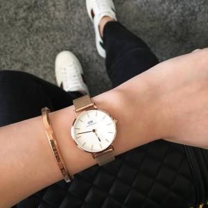 Harga jam tangan dw wanita melrose gifset brecelet original   | HARGALOKA.COM